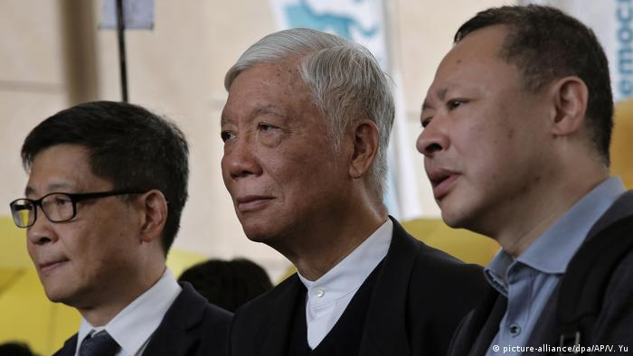 Founders of the Occupy Central movement