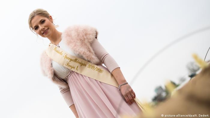 Гессенская королева спаржи (фото)