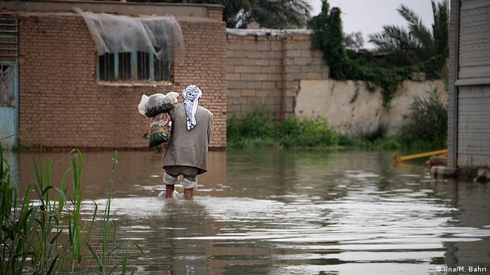 Hochwasser in Ahwaz Iran