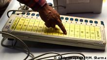 Indien EVM Elektronische Wahlautomaten