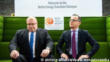 Internationale Energiewende-Konferenz Berlin Peter Altmaier und Heiko Maas