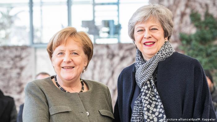 Cancelara Angela Merkel primind-o la Berlin pe Theresa May, prim-ministrul Marii Britanii