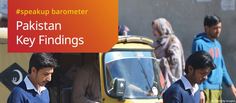 DWA DW Akademie speakup barometer Pakistan