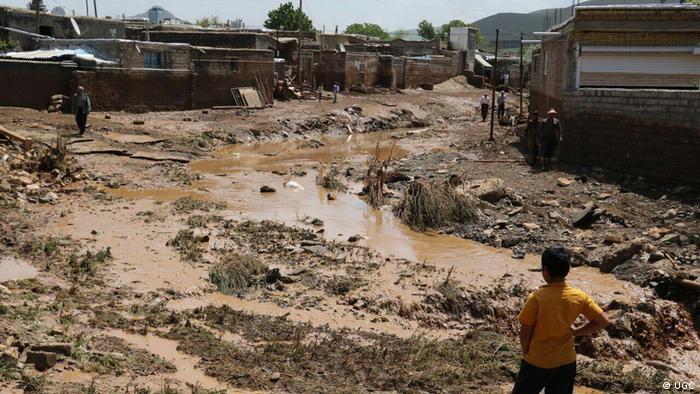Hochwasser im Iran (UGC)