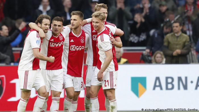 Ajax Hoping Generation Game Pays More Than Just Financial Dividends Sports German Football And Major International Sports News Dw 09 04 2019