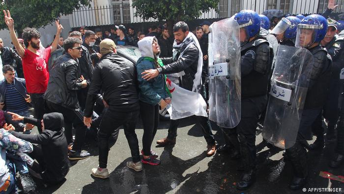 Algerien Protesten in Algiers