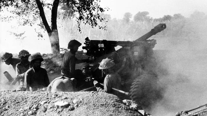 Indien Rückblick 70 Jahre Krieg mit Pakistan 1971 (Getty Images/AFP/)
