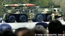 Indien Rückblick 70 Jahre pakistanische atomfähige Rakete Hatf II (Abdali)