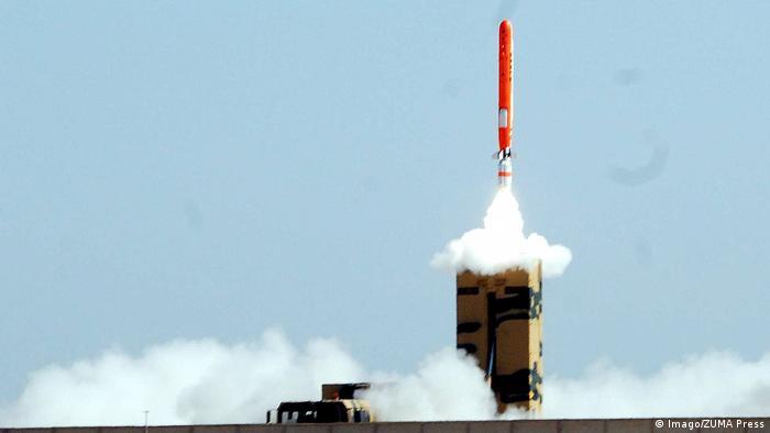 Indien Rückblick 70 Jahre pakistanische atomfähige Rakete Hatf VII (Babur) (Imago/ZUMA Press)