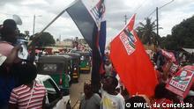 Mosambik Vorwahlkampf für die Parlamentswahlen