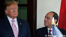 USA Washington | Abdel Fatah Al-Sisi, Präsident Ägypten & Donald Trump