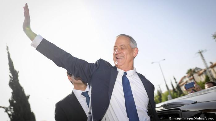 Israel Wahlen | Kandidat Benny Gantz (Imago Images/Xinhua/guoyu)