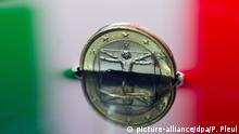 Symbolbild Italien Wirtschaft Staatsverschuldung Rezession