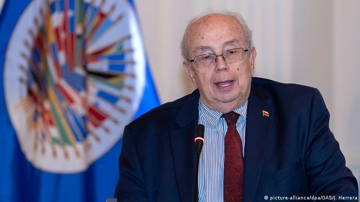Gustavo Tarre Venezuelas Vertreter für OAS (picture-alliance/dpa/OAS/J. Herrera)