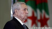 Abdelkader Bensalah wird Interimspräsident von Algerien