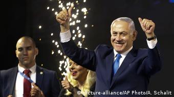 Israel Wahlen Wahlparty Netanjahu
