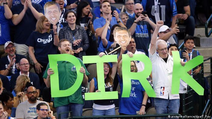 Letztes Heimspiel Dirk Nowitzki