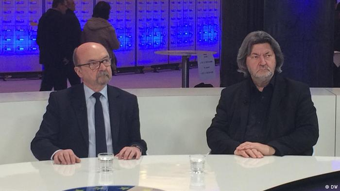 Ryszard Legutko i Joachim Zeller