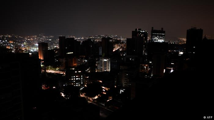 Venezuela Stromausfall Black out