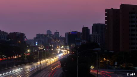 Venezuela Black out Stromausfall (AFP)