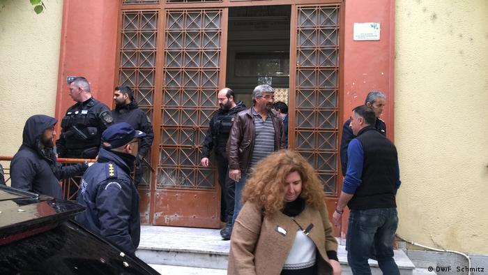 Ein slawo-mazedonischer Kulturverein muss ich vor dem Gericht im nordgriechischen Serres verantworten (DW/F. Schmitz)