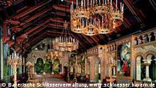 Schloss Neuschwanstein: Sängersaal