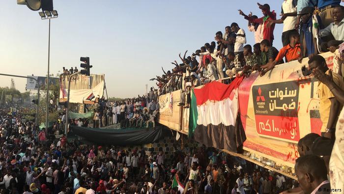 Sudan Proteste gegen Präsident Omar Al-Bashir