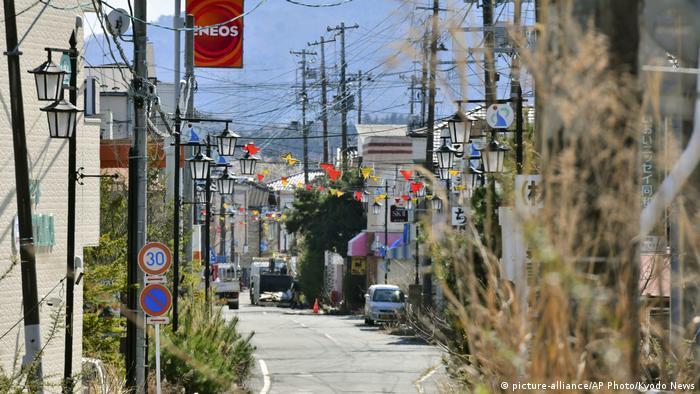 Japan Fukushima Okuma