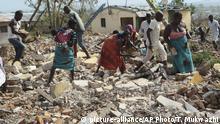 Mosambik Idai Wiederaufbau