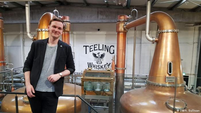 Chris Hayes from the Teeling Whiskey Distillery, which opened in 2015. It was the first new distillery to open in Dublin in 125 years