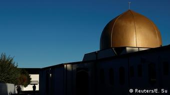 Neuseeland Bildergalerie Attentat von Christchurch | Überlebende und Angehörige (Reuters/E. Su)