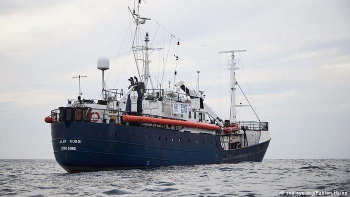 Das Rettungsschiff Alan Kurdi der deutschen Organisation Sea-Eye (Foto: sea-eye.org/Fabian Heinz)