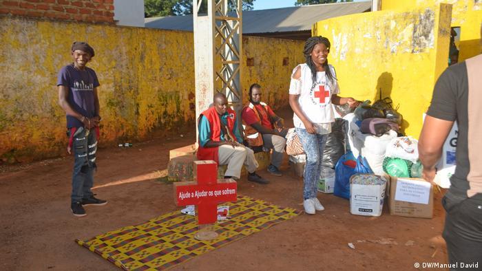 Mosambik Zyklon Idai - Solidaritätskampagne in Niassa