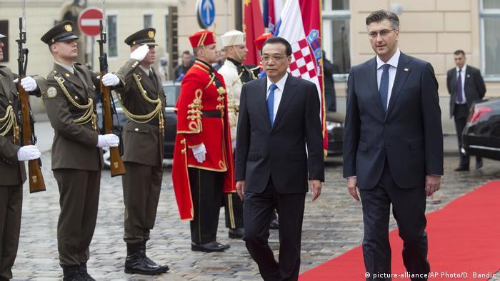 China Kroatien Andrej Plenkovic Li Keqiang