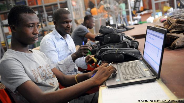 Nigeria Jumia-Mitarbeiter