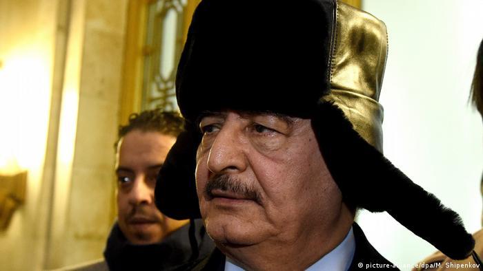 Генерал Халифа Хафтар - Либия