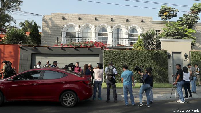 Peru Festnahme von Pedro Pablo Kuczynski