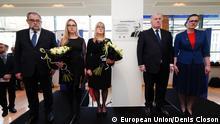 Einweihung des Foyers Pawel Adamowicz
