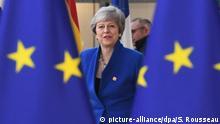 Belgien Brexit-Gipfel in Brüssel | Theresa May, Premierministerin von Großbritannien