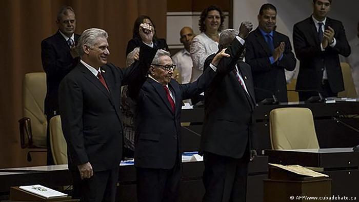 Первые лица Кубы объявляют о новой конституции, 10 апреля 2019 г.