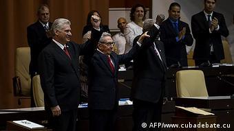 Kuba Proklamation der neuen Verfassung