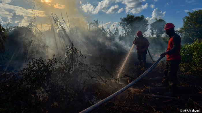 Indonesien Feuer