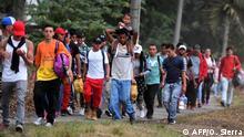 Honduras Neue Migranten-Karawane