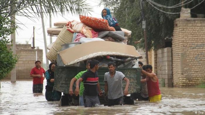 Iran Überschwemmung in Ahwaz (Ilna)