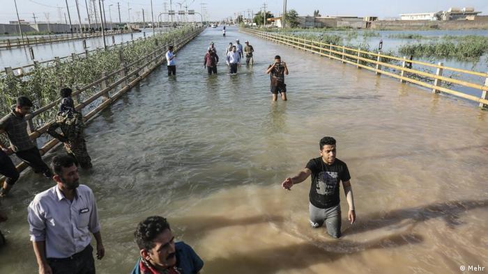 Iran Überschwemmung in Ahwaz (Mehr)
