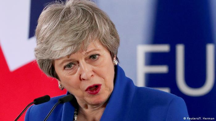 Belgien Brexit-Gipfel in Brüssel (Reuters/Y. Herman)