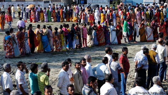 Wahlen in Indien (Reuters/R. De Chowdhuri)