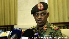 Sudan Vizepräsident Awad Ibn Auf
