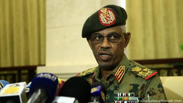 Defense Minister Ahmed Awad Ibn Auf