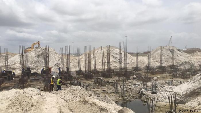 Construction site near Lagos